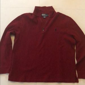 Red Polo by Ralph Lauren pull over sweater